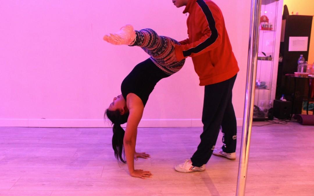 Stage d'équilibre, souplesse de Kim Langlet