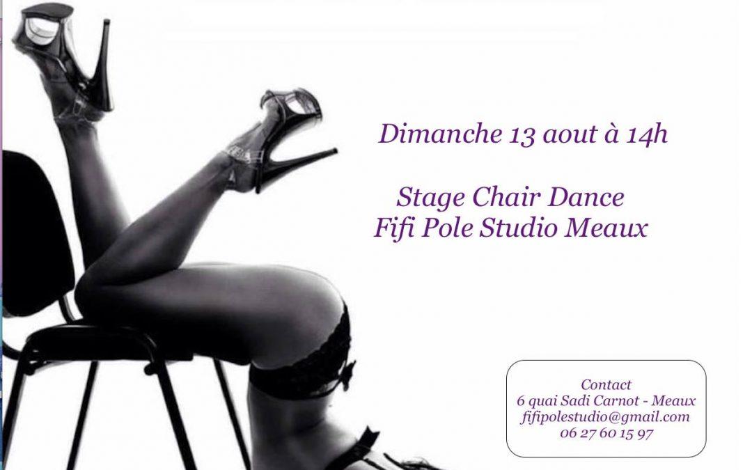 Stage Chair Dance Meaux Dimanche 13 Aout 2017 à 14h
